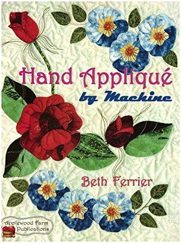 Hand Appliqu by Machine