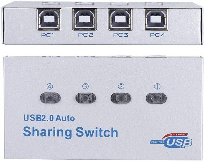 Tangxi Interruptor para Compartir Impresora USB Hub PC Computadora ...