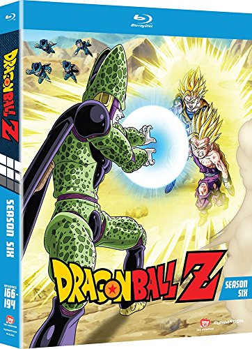 Blu-ray : Dragon Ball Z: Season 6 (Blu-ray)