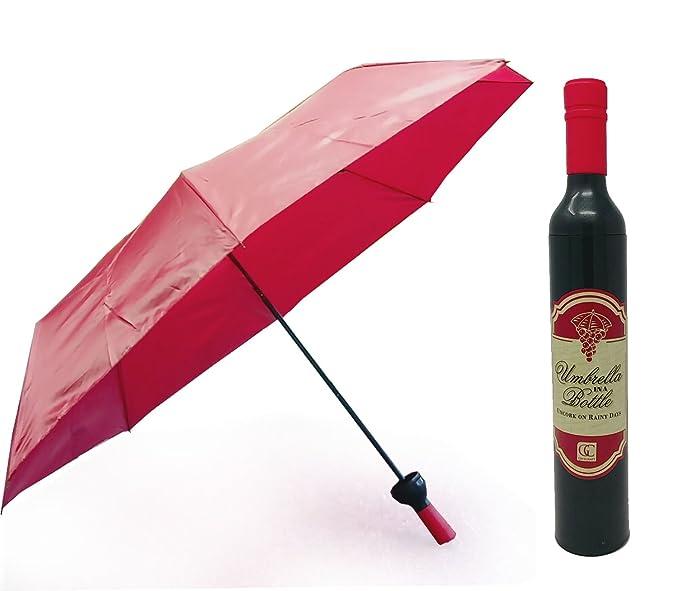 6c054156bc83c Amazon.com: Wine bottle Umbrella: Clothing