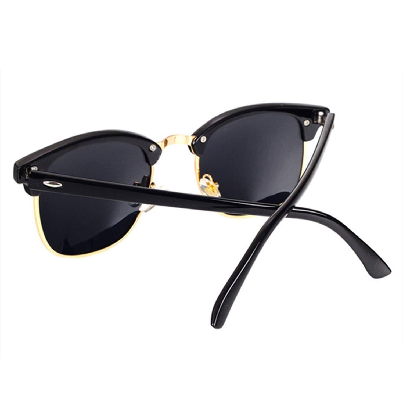 5e188a1264 Amazon.com  Barry-Story Classic Polarized Sunglasses Men Women Retro Sun  Glasses Female Male Fashion Mirror Sunglass