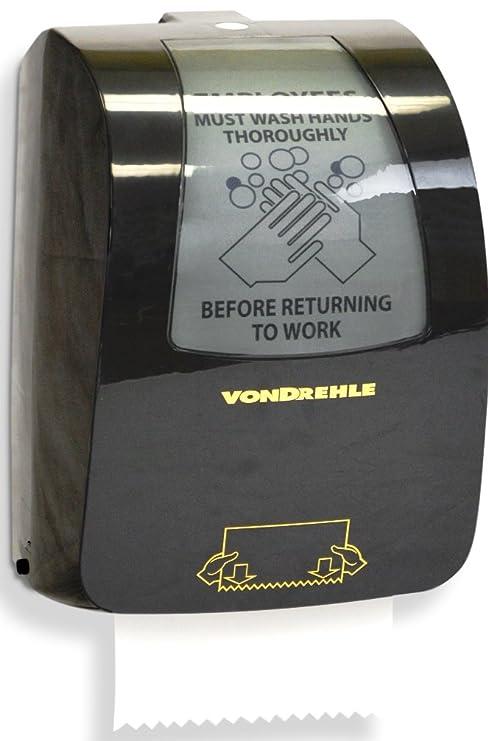 "vondrehle 8864 8 ""mecánico tire hacia abajo dispensador de toalla de ..."