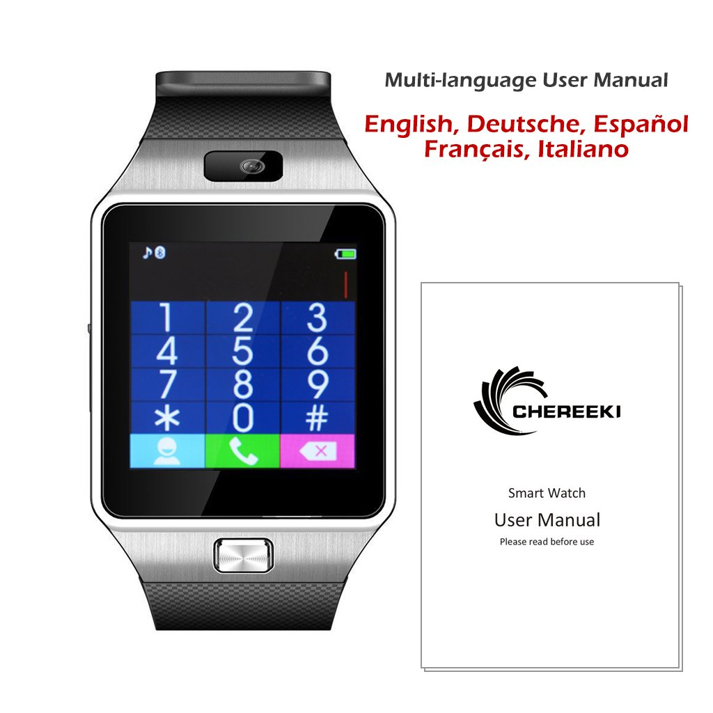 CHEREEKI Smarthwatch Bluetooth Orologio Intelligente Image 3