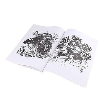 Libros de Tatuajes para Artistas de 51 Páginas Tres Estilos para ...