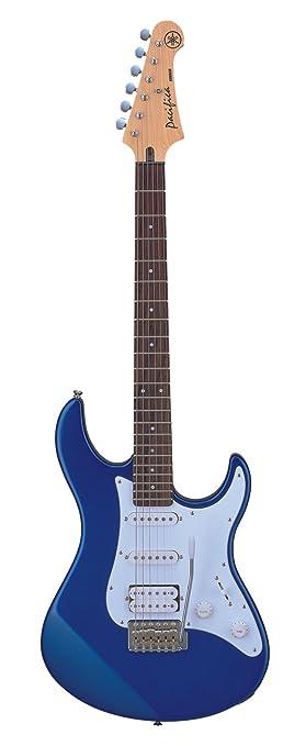 yamaha pacifica. yamaha pacifica series pac012 electric guitar; metallic blue