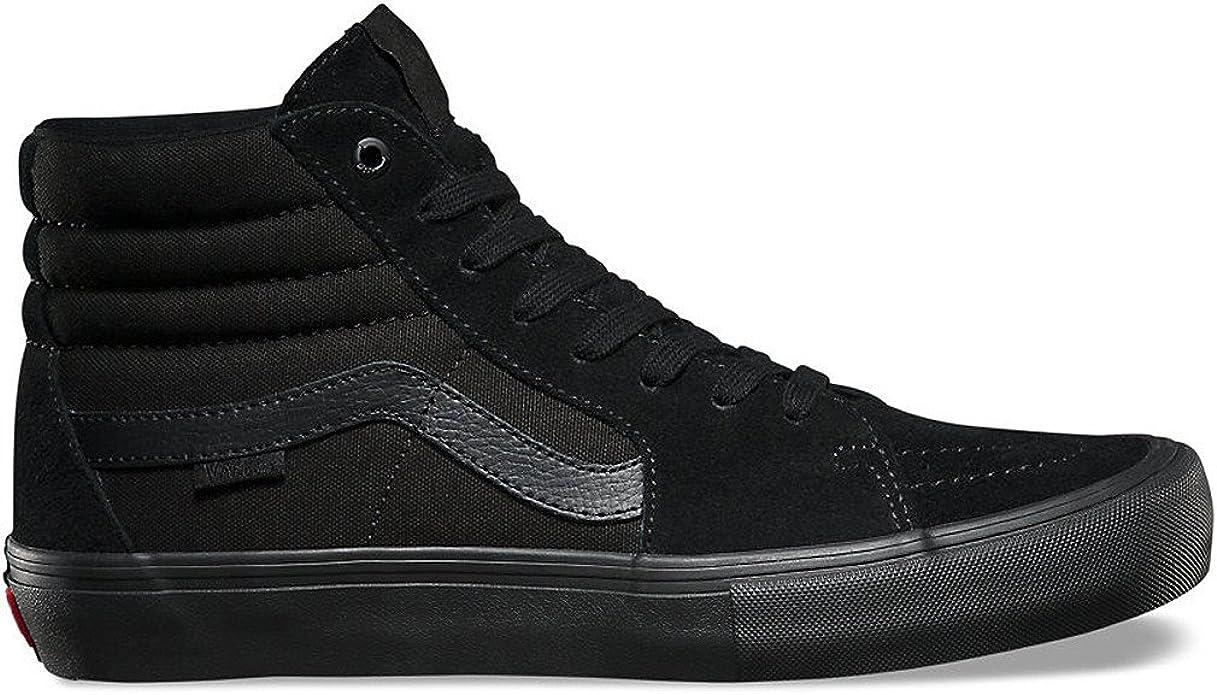 Sk8-Hi Pro Black/White Skate Shoe 7.5