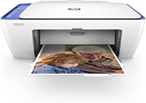 HP DeskJet 2655 All-in-One Compact Printer, HP Instant Ink, Works with Alexa - Noble Blue (V1N01A)