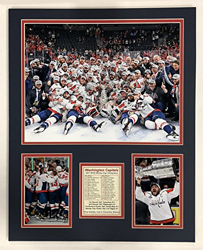 Memorabilia Washington (Legends Never Die 2017-2018 Washington Capitals - Stanley Cup Champions - Celebration - 16
