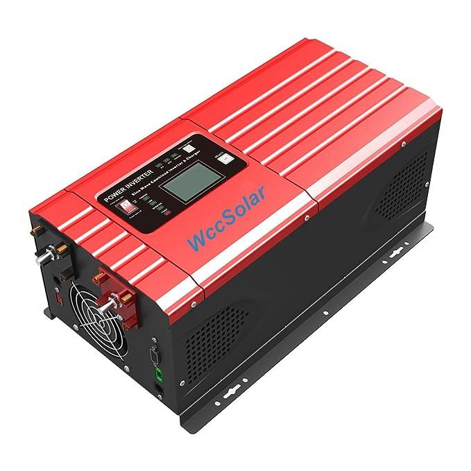 Inversor Onda Pura Hibrido 3000W/9000W 12V Regulador MPPT ...