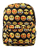 New Design Backpack Cute Backpack Kids School Backpack With Emoji Black Big Face Review