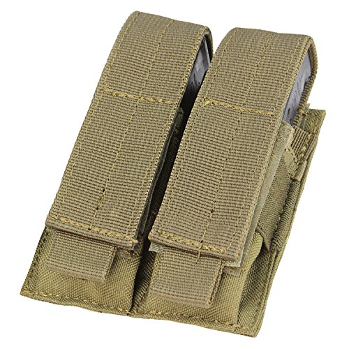 Condor Double Pistol Mag Pouch (Tan) (Molle Gear Pouches compare prices)