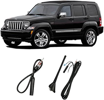 MOPAR OEM Antenna Base /& Wire Assembly Fender Mounted for Jeep Liberty NEW