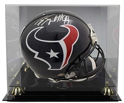 4e572f9a JJ Watt Autographed Signed Houston Texans Proline Helmet JSA With ...