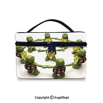 Amazon.com : Cosmetic Bag & Case Portable, Ninja Turtles ...