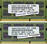 8GB (2X4GB) Memory RAM for Apple MacBook Pro (13-inch, Mid 2009) Laptop Memory Upgrade - Limited from Seifelden