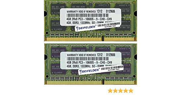 8GB (2X4GB) Memory RAM for Toshiba Satellite M645-S4070 Laptop Memory Upgrade - Limited from Seifelden at Amazon.com