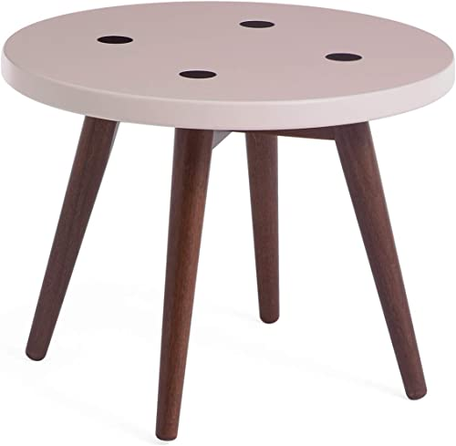 Memomad Mid Century Modern Round Nesting Table Side Table 20″