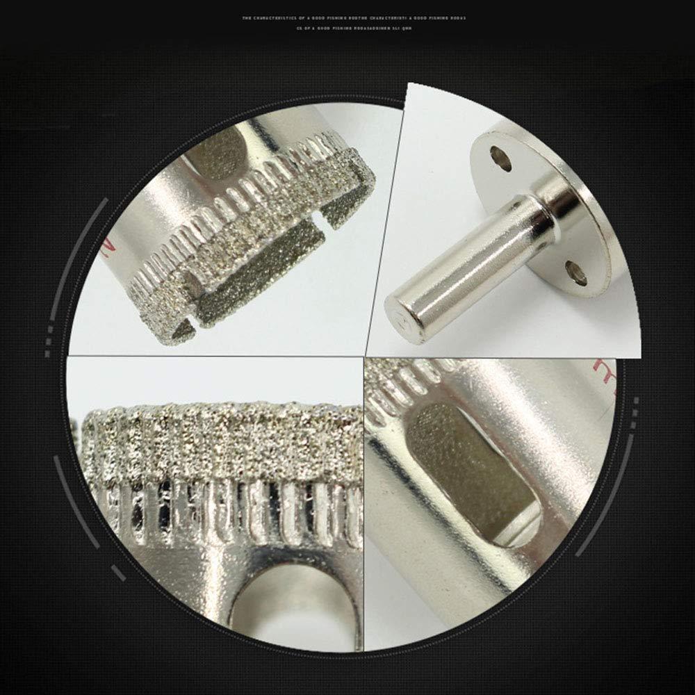 10 piezas cuarto de ba/ño azulejos de porcelana Brocas de diamante llave de cer/ámica granito m/ármol vidrio perforadora de azulejos de 6 a 50 mm con revestimiento de diamante para cocina ducha