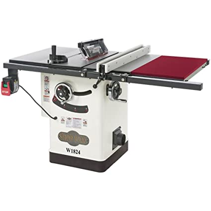 Shop fox w1824 hybrid table saw with extension table power table shop fox w1824 hybrid table saw with extension table greentooth Gallery