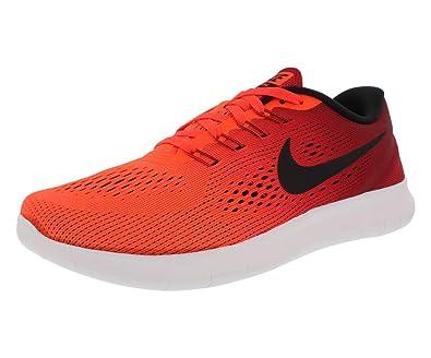 finest selection cabcf 701f6 Nike – WMNS Free RN Damen Laufschuhe, Rot und Schwarz, ...