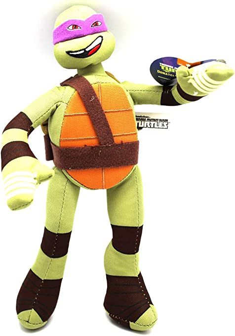 Ninja Teenage Mutant Turtle Stuffed Plush Toy (Donatello)