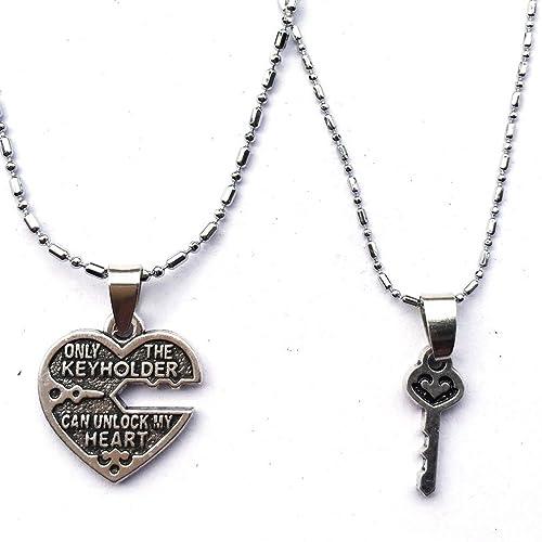 Amazon.com: dolon solo el llavero puede desbloquear My Heart ...