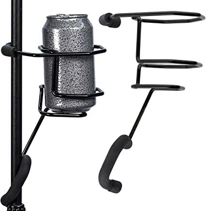 MICROPHONE STAND SUPPORT DRINK BEVERAGE BOTTLE CAN HOLDER CUP MOUNT CLIP LIVE