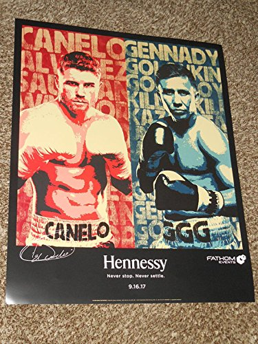 Fathom Events   Saul Canelo Alvarez Vs Gennady Ggg Golovkin 18X22 Promo Movie Poster