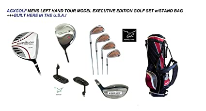 5a87c9979688 AGXGOLF Men's Left Hand Tour Edition Executive Golf Club Set wBag; Callaway  Style Irons in Cadet, Regular or Tall Length; Free Putter Fast Shipping: ...
