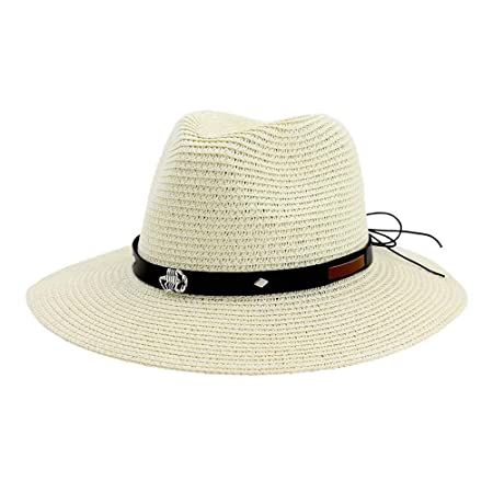 ANNFENG 2019 Moda Sombrero de Paja Unisex Sombrero for el Sol ...
