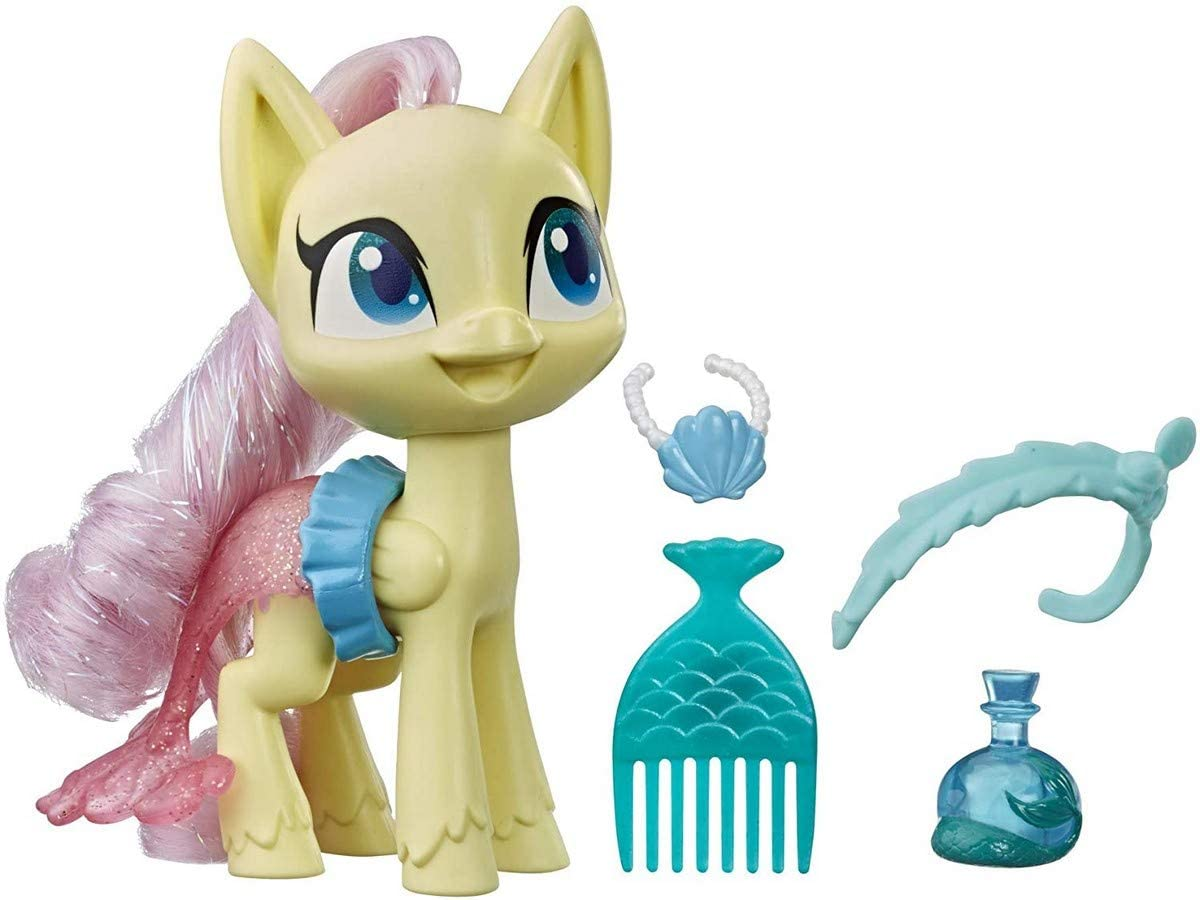 Barbie Worlds Smallest My Little Pony Set of 2 More Colors White//Yellow