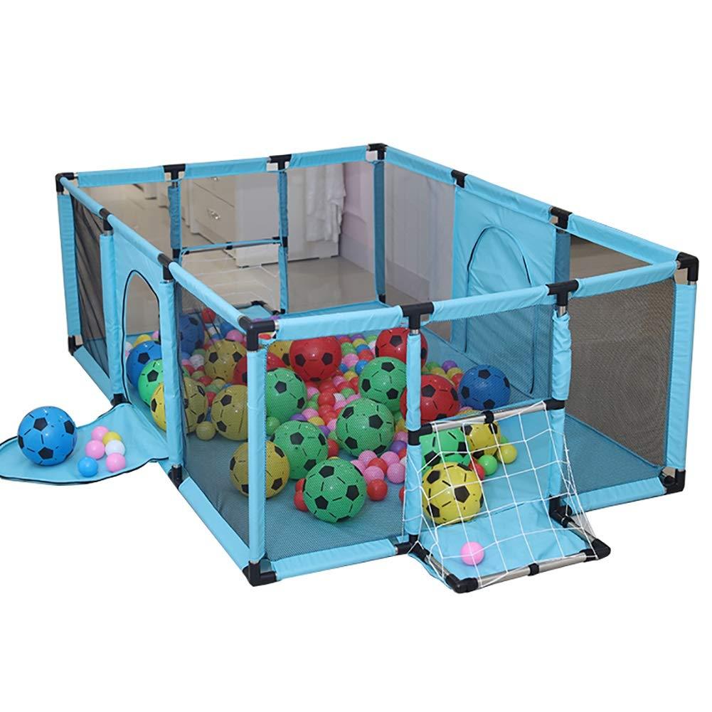 最新 赤ちゃんの遊び場 B07K8DL8QD、サッカーゴール、安全な幼児の遊び場、余分な大光緑色の赤ちゃんの遊び場、120×180×62cm B07K8DL8QD, 大きいサイズMim min(ミンミン):3f608173 --- a0267596.xsph.ru