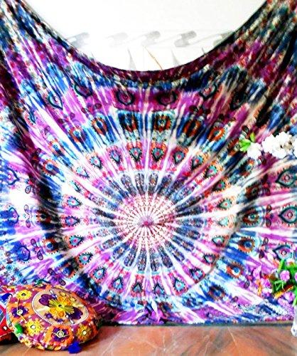 Future Handmade Mandala new launched twin tapestry wall tapestry hippie tapestry wall hanging Indian psychedelic tapestry mandala beach throw boho tap…