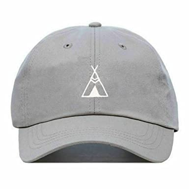 da41a7fdf72d KOPPPU Teepee Baseball Hat, Embroidered Dad Cap, Unstructured Soft Cotton, Adjustable  Strap Back