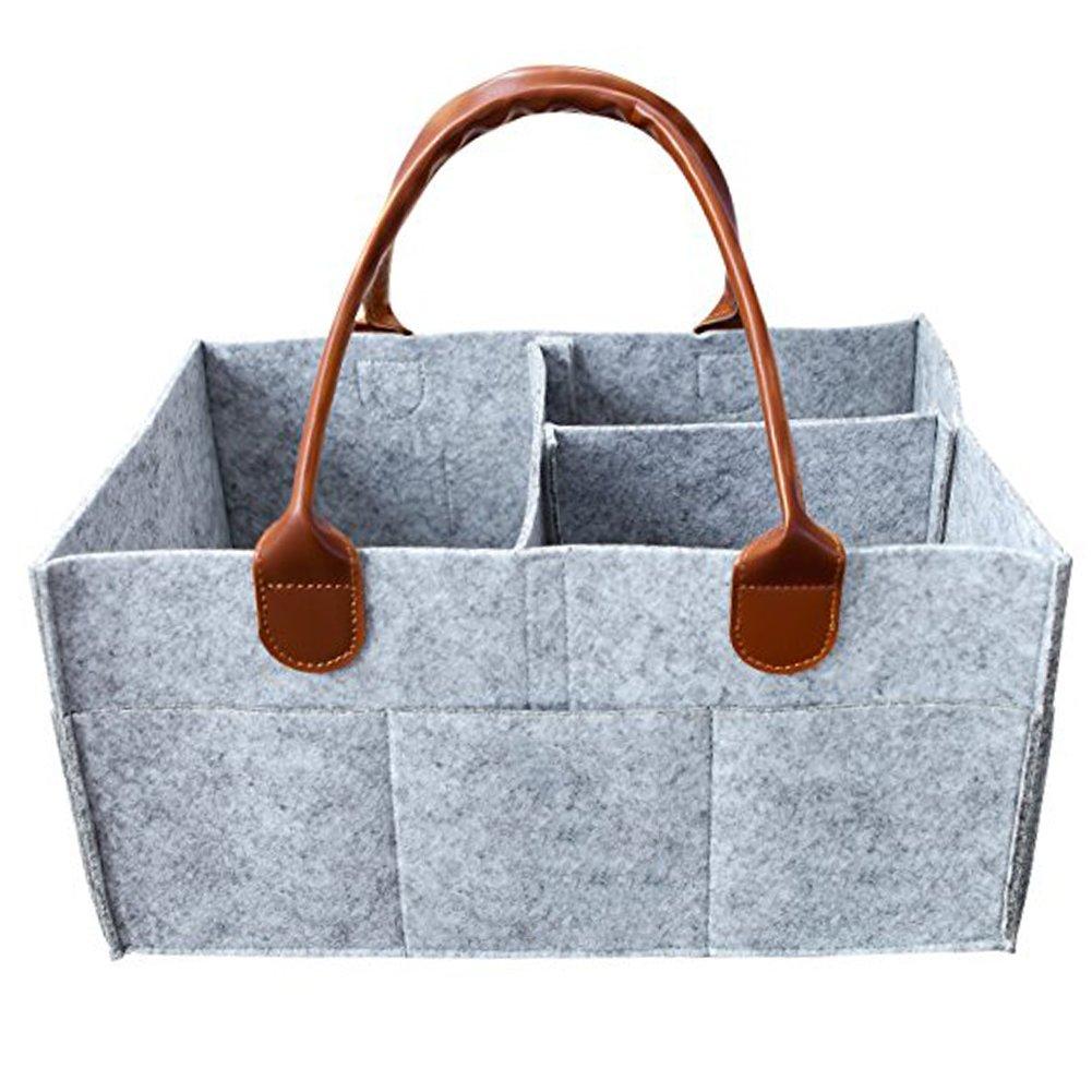 UxradG Windel-Caddy, Organizer für Kinderzimmer, Filz, für Reisen/Auto-Reise-Einkaufstasche- und von bubbaloo
