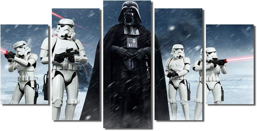 Lego Star Wars Stormtrooper Stretched Canvas ~ More Size