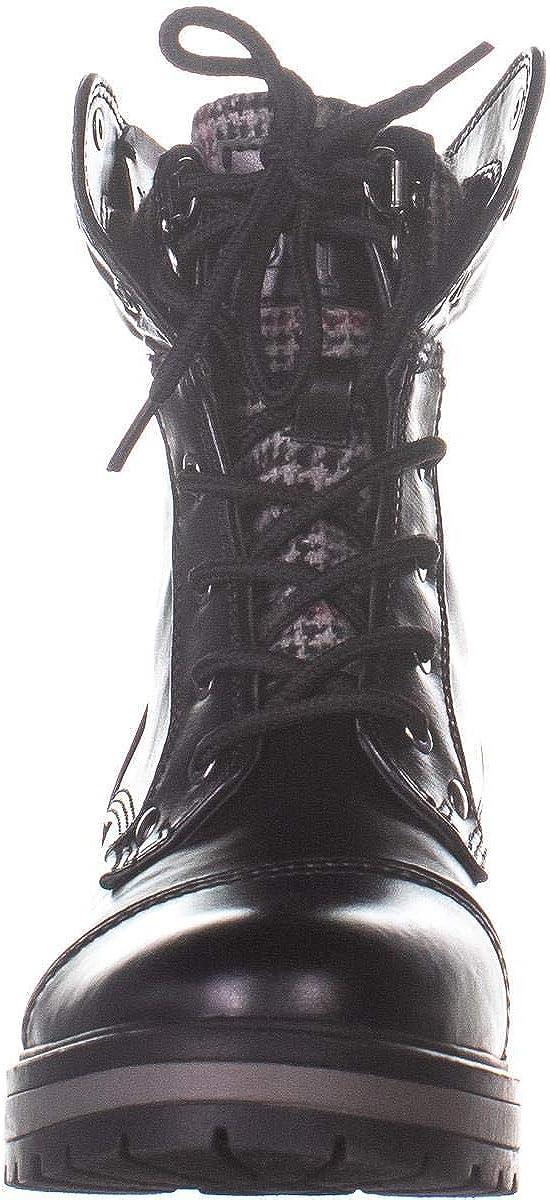 Details about Tommy Hilfiger Dyan 2 Combat Boots 321, Black Multi, 6 US