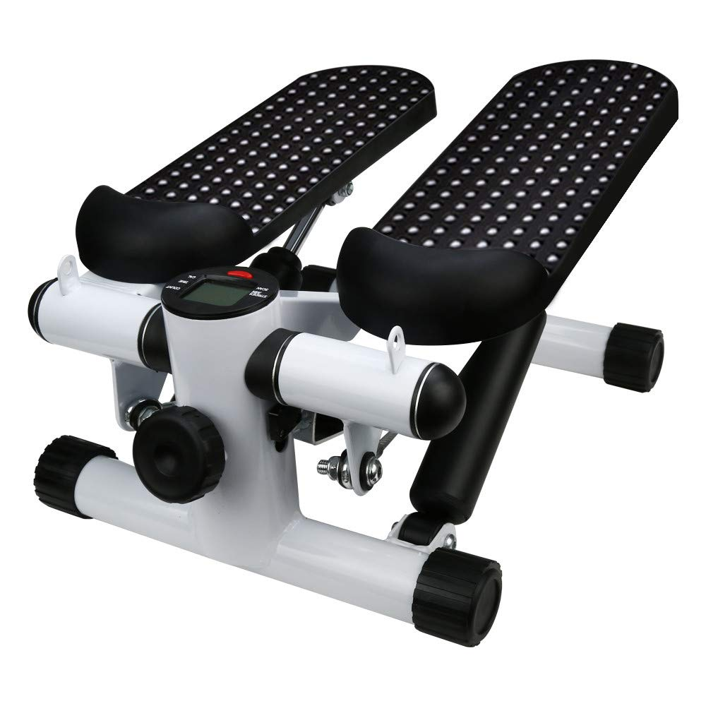 Kariwell Twist Stepper - Household Hydraulic Mute Stepper Multi-Function Pedal Indoor Sports Stepper Exercise Legs Ship from USA (Black❤️)