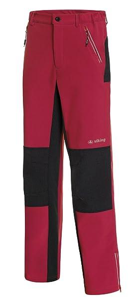 viking Pantalones De Trekking Hombres - con Refuerzo De Kevlar - Impermeable, Extra Cálido -