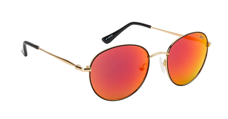 b8fd4e041e Opium Round Reflector Sunglasses (OP-1393-C03)  Amazon.in  Clothing    Accessories
