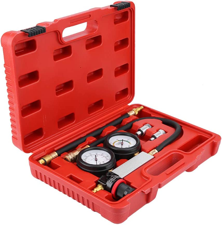 4Pcs Rubber /& Hardware Cylinder Leak Tester Petrol Engine Compression Leakage Leakdown Detector TU-21 Leak Tester