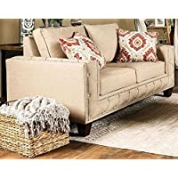 Furniture of America SM6306-LV Norwick Furniture, Beige