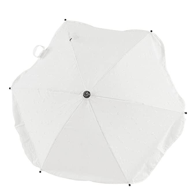 Broderie Anglaise Parasol Compatible with Silver Cross Surf Cream