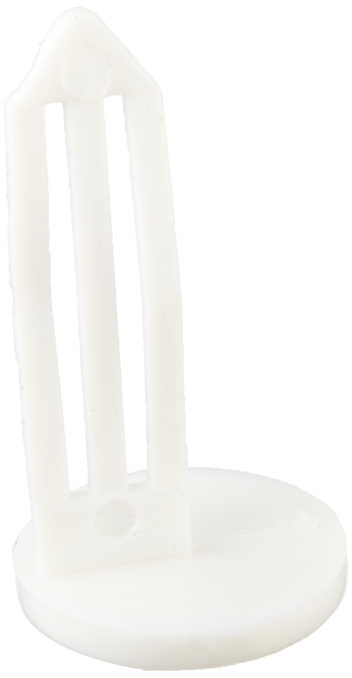 MMF Industries MMF261401806 Nylon Vault Key-Hole Signals, Safety and Security, White