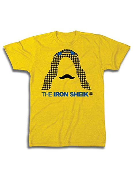 WWE T-camiseta de manga corta, para hombre oficial la plancha jeque producto oficial