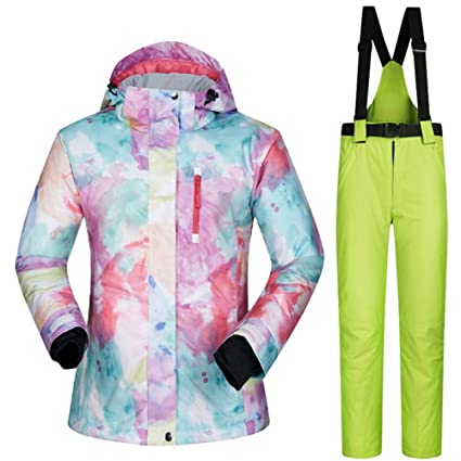Female Girls Winter Snow Jacket Ski Suit Women Snow Jacket+pants Windproof Waterproof Thickened Clothes Snowboard Skiing Sets Remote Control Toys