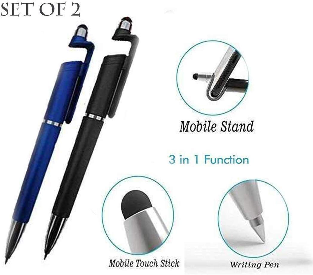 Multicoloured Universal Touch Screen Stylus Ball Point Pen For iPhone iPad#2