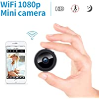 WiFi Mini IP Camera, Leegoal 1080P Video Recorder Wireless Cameras Ultra Small Camera WiFi Remote View Home Security Mini Security Camera150°Angle Nanny Cam Night Vision