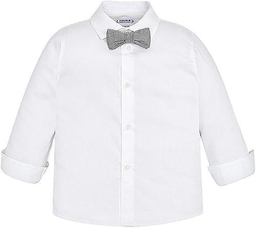 Mayoral, Camisa para niño - 3173, Blanco: Amazon.es: Ropa