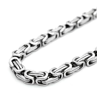 Amazon.com: SANDRA - Cadena de acero inoxidable para hombre ...